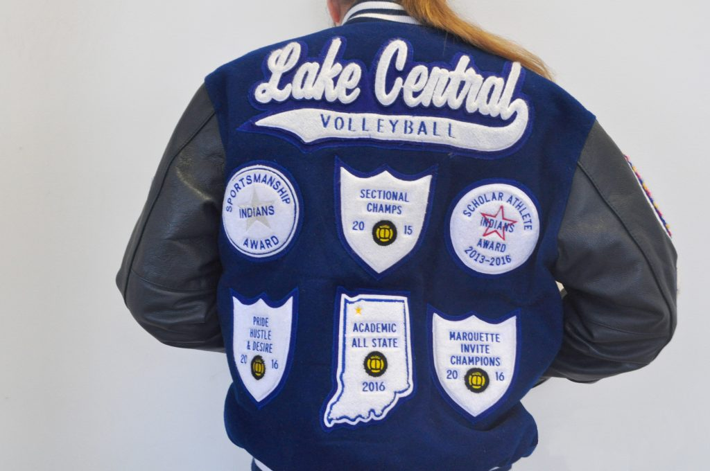 how to clean letterman jacket patches